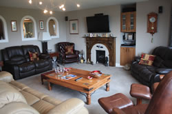 Asgard living room in Stromness, Orkney